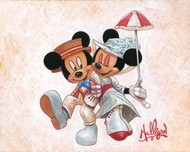 Mickey Mouse Artwork Mickey Mouse Artwork Jolly Holiday with Minnie