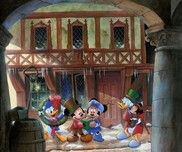 Donald Duck Animation Art Donald Duck Animation Art Joyful Tidings