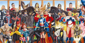 Alex Ross Comic Art Alex Ross Comic Art The Justice Society: Generations
