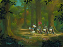 Donald Duck Animation Art Donald Duck Animation Art The Good Scouts