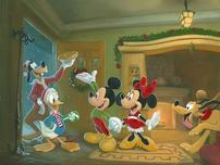 Donald Duck Animation Art Donald Duck Animation Art Home for the Holidays