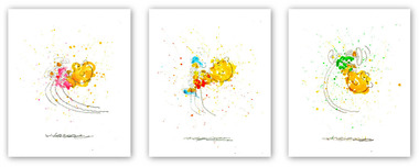 Tom Everhart Prints Tom Everhart Prints Kicked Off (SN) - Set