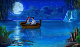 Little Mermaid Artwork Little Mermaid Artwork Kiss Da Girl