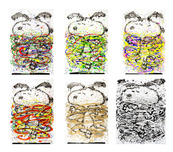 Tom Everhart Prints Tom Everhart Prints Little Fancies Suite (Set of 6)