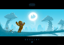 Star Wars Artwork Star Wars Artwork Little Chewie's Destiny