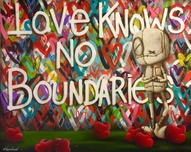 Fabio Napoleoni Fabio Napoleoni Love Knows No Boundaries (Original) - Gallery Wrapped