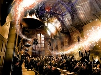 Harry Potter Artwork Harry Potter Artwork Making A Great Exit