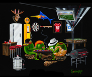 Sports Memorabilia & Collectibles Sports Memorabilia & Collectibles Man Cave (AP)