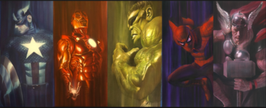 Marvel Shadows: Set of 5