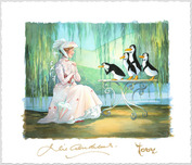 Mary Poppins Artwork Mary Poppins Artwork Mary Poppins and Merry Penguins