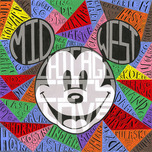 Mickey Mouse Artwork Mickey Mouse Artwork Metropolitan Daydreamer (Gallery Wrapped)