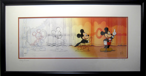 Mickey Mouse Artwork Mickey Mouse Artwork Mickey Mouse Comes To Life (Framed)