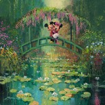 Mickey Mouse Artwork Mickey Mouse Artwork Mickey and Minnie at Giverny