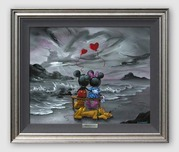 Pluto Artwork Pluto Artwork Mickey and Minnie Forever Love