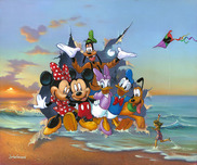 Donald Duck Animation Art Donald Duck Animation Art Mickey and the Gang's Grand Entrance
