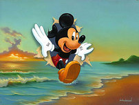 Mickey Mouse Artwork Mickey Mouse Artwork Mickey's Grand Entrance
