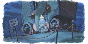 Dumbo Artwork Dumbo Artwork Mother's Lullaby