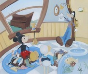 Donald Duck Animation Art Donald Duck Animation Art Moving Day