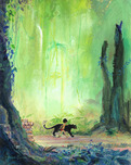 Jungle Book Artwork Jungle Book Artwork Mowgli and Bagheera