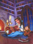 Beauty and the Beast Art Beauty and the Beast Art Tell me a Story