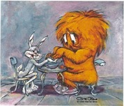 Gossamer Art by Chuck Jones Gossamer Art by Chuck Jones My Stars!