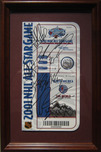 Sports Memorabilia & Collectibles Sports Memorabilia & Collectibles 2001 NHL Avalanche AllStar Game Ticket - Signed