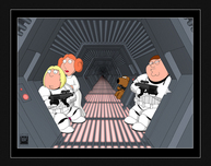 Family Guy Art Family Guy Art Not So Great Escape