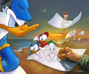 Donald Duck Animation Art Donald Duck Animation Art Off the Page