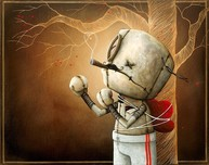 Fabio Napoleoni Fabio Napoleoni Only A Fool Would Try (SN) Canvas