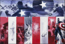 Alex Ross Comic Art Animation & Super Hero Art Origins: Captain America