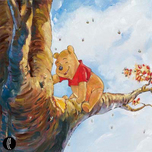 Winnie the Pooh Artwork Winnie the Pooh Artwork Out on a Limb - Winnie the Pooh