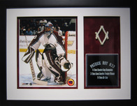 Sports Memorabilia & Collectibles Sports Memorabilia & Collectibles Net Piece from Patrick Roy's Final Game