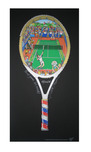 Charles Fazzino 3D Art Charles Fazzino 3D Art Point, Game, Set, Match! (PR)