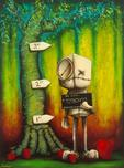 Fabio Napoleoni Fabio Napoleoni Possession of Hope with Intent to Distribute - Color (SN) Canvas (Gallery Wrapped)