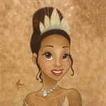 Mike Kupka Mike Kupka Princess Tiana Portrait