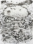 Tom Everhart Prints Tom Everhart Prints Psycho Cyclone - Original
