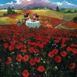 Mickey Mouse Artwork Mickey Mouse Artwork Red Poppies (Premiere)