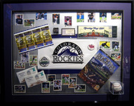 Sports Memorabilia & Collectibles Sports Memorabilia & Collectibles Rockies Inaugural Season Collection (Framed)