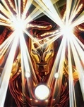 Alex Ross Comic Art Alex Ross Comic Art Visions: Iron Man (Canvas)