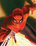Alex Ross Comic Art Alex Ross Comic Art Visions: Spider-Man (Canvas)
