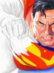 Alex Ross Comic Art Alex Ross Comic Art Rough Justice (Canvas)