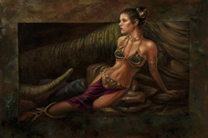 Star Wars Artwork Star Wars Artwork Leia Study