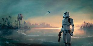 Star Wars Artwork Star Wars Artwork Scarif Forces (SN)