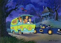 Hanna-Barbera Artwork Hanna-Barbera Artwork Scooby-Doo Meets Batman and Robin