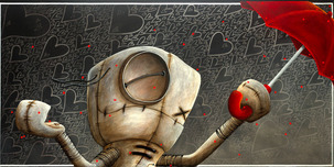 Fabio Napoleoni Fabio Napoleoni Shower Me with Love and Kisses (AP) Canvas