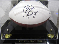 Sports Memorabilia & Collectibles Sports Memorabilia & Collectibles Signed Football by Peyton Manning