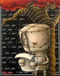 Fabio Napoleoni Fabio Napoleoni Simple Words With Such Power (PP) Canvas
