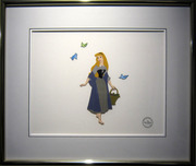 WDCC Classics Collection on Sale! Clearance Sleeping Beauty Sericel (Framed)