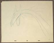Disney Cels on Sale! Clearance Sleeping Beauty Dragon Original Production Drawing