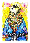 Tom Everhart Prints Tom Everhart Prints Wearing Jim Dine - Snoopy (Parlor Edition)